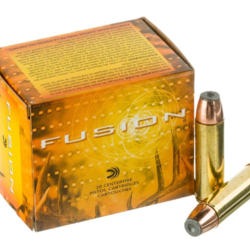 Fusion Pistol Ammo 500 S&W, SP, 325 Gr, 1450 fps, 20 Rnd, Boxed