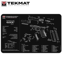 "TekMat TEK-R17-GLOCK Gun Cleaning Mat, 11""x17"""