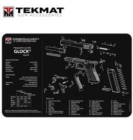 "tekMat TekMat TEK-R17-GLOCK Gun Cleaning Mat, 11""x17"""