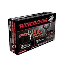 Winchester Winchester 243 Win 100 GR Power Max Bounded