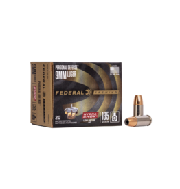 Federal Federal Personal Defense 9mm Luger135GR Hydra-Shok Low Recoil JHP