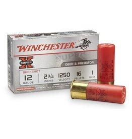 Winchester Winchester 12GA 2 3/4 1 Buck