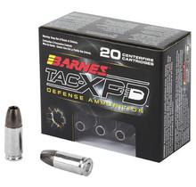 Barnes Vor-TX Pistol Ammo 9mm Tac-XP HP 115GR  20Rds