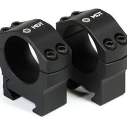 "MDT Premier Precision Scope Rings 30mm 1.25"" High"