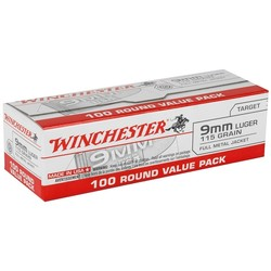 Winchester 9mm Luger 115GR 1000RDS