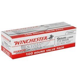 Winchester Winchester 9mm Luger 115GR 1000RDS