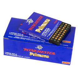Winchester WLRM Large Magnum Rifle Primers 1000ct