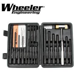 Wheeler Wheeler Engineering Master Roll Pin Punch Set
