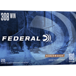 Federal 308 WIN 180GR SP 20ct