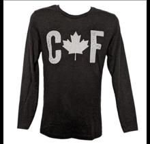 Black Rifle Coffee CAF Long Sleeve Shirt Vintage Black S