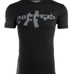 Black Riffle Coffee AR Coffee T-Shirt Charcoal XL