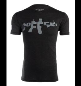 BLack Rifle Coffee Black Riffle Coffee AR Coffee T-Shirt Charcoal XL