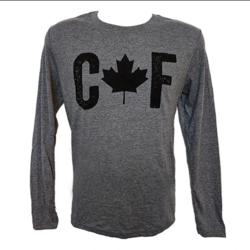 Black Rifle Coffee CAF Long Sleeve Shirt Heather Grey XL
