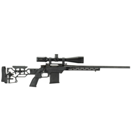 MDT MDT LSS-XL Gen2 Chassis System Remington 700 SA Right Handed Fixed Interface Cerakote Black