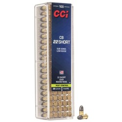 CCI 22 CB Short Low Noise 29GR Pest Control