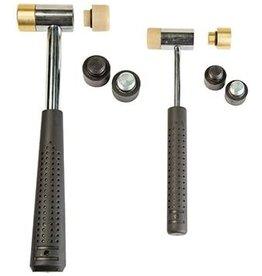 Wheeler wheeler Master Gunsmith Interchangeable Hammer Set ( 2 Hammers 8 Heads )