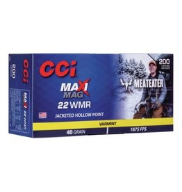CCI CCI Maxi-Mag 22 WMR 40GR JHP Meateater 200ct