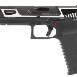 G&G GTP9 MS Silver Airsoft Pistol