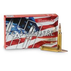 Hornady American Whitetail Rifle Ammo 7mm Rem Mag 154 GR Interlock