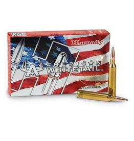Hornady Hornady American Whitetail Rifle Ammo 7mm Rem Mag 154 GR Interlock