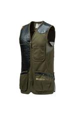 Beretta Beretta Eco Leather Sporting Vest Dark Olive XXXXL