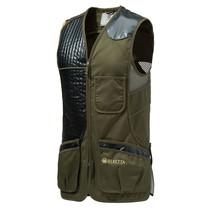 Beretta Eco Leather Sporting Vest Dark Olive XXXXL