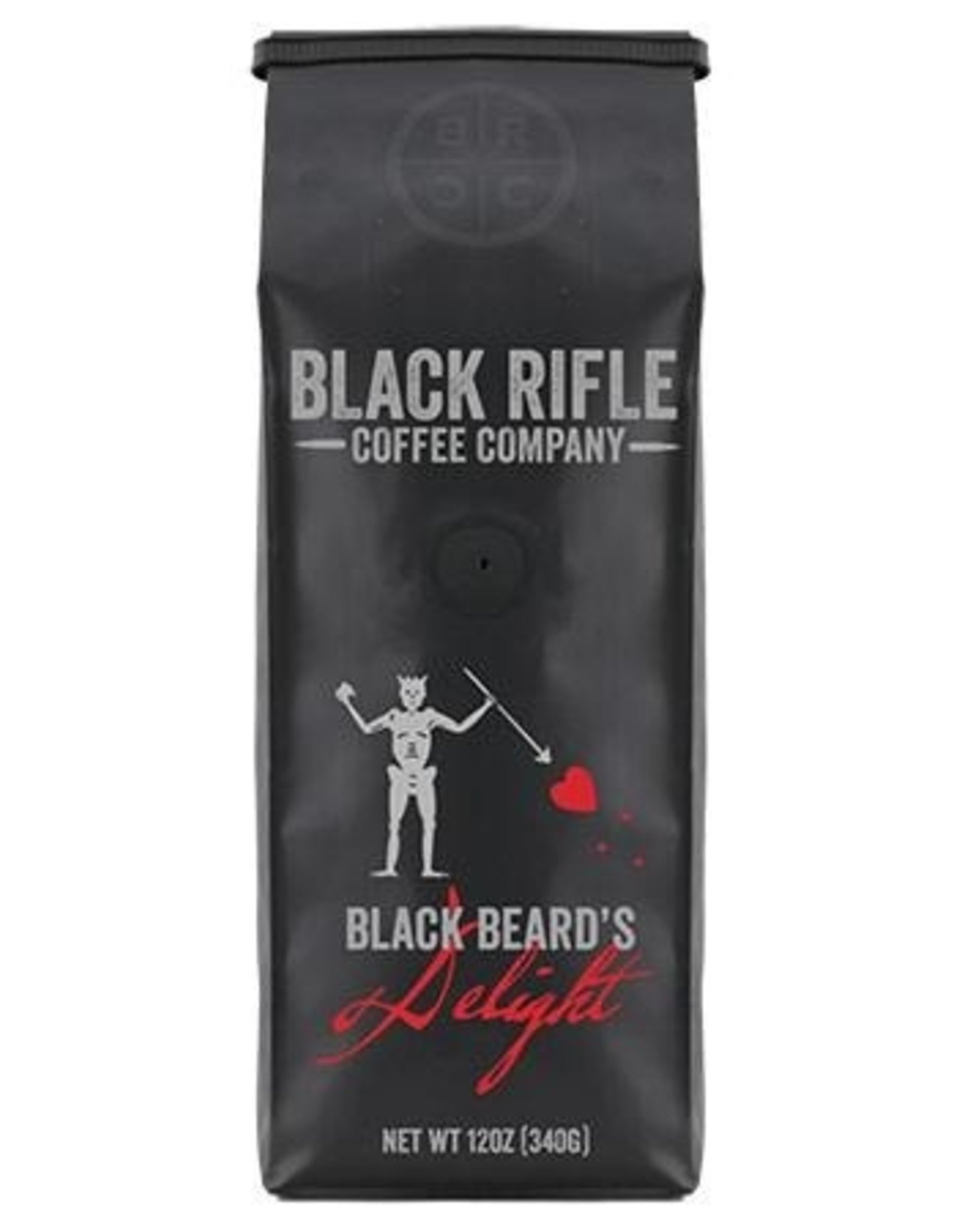BLack Rifle Coffee Black Coffee Rifle Black Beard's Delight Blend Whole Bean