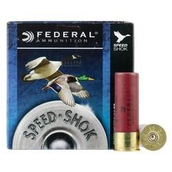 """Federal WF142-2 Speed Shok Waterfowl Shotshell 12 GA 3"""" 1 1/4oz 2 25 Rnd per Box"""