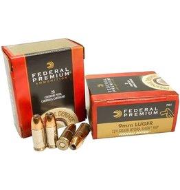 Federal Federal Premium Personal Defense Pistol Ammo 9MM Hydra-Shok JHP 124 Gr 20ct