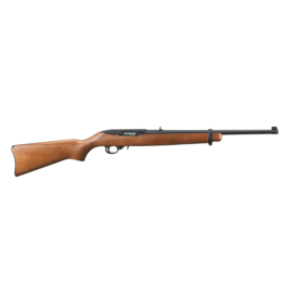 Ruger Ruger 1103 10/22 Carbine Semi Auto Rifle 22 LR, RH, 18.5 in, Satin Black, Wood Stk, 10+1 Rnd