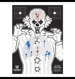 triumph Triump Bleeding Evil Clown Target