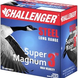 "Challenger Ammo 50172 Super Magnum 5017 Shotshell 12 GA 3"" #2 1-1/8 oz 1550 fps 250 Rnd"