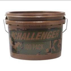 "Challenger Ammo 52072 Steel Magnum Shotshell 12 GA 3"" #2 1-1/4 oz 1450 fps 100 Rnd"