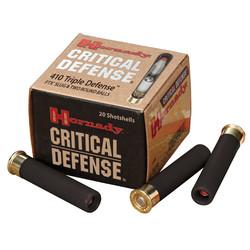 """Hornady #86238 Triple Defense Shotshell 410 GA 2-1/2"""" No. 41 Cal 720 fps 20 Rnd per Box"""