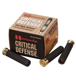 "Hornady Hornady #86238 Triple Defense Shotshell 410 GA 2-1/2"" No. 41 Cal 720 fps 20 Rnd per Box"