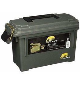 "Plano Plano 121202 Field/Ammo Box, Compact, 13.75"" x 5.63"" x 5.56"", O.D. Green"