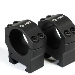 "MDT Premier Precision Scope Rings 34mm Medium 1"" Black"