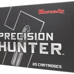 Hornady Precision Hunter Rifle Ammo 7mm Rem Mag 162gr ELD-X 20RDS 80636