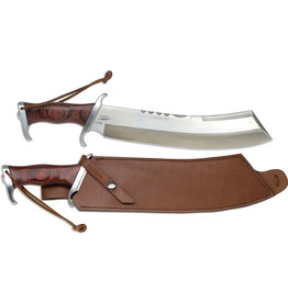 United Cutlery Gil Hibben IV Combat Machete With Leather Sheath