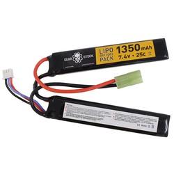 Gear Stock 7.4V 25C 1350mAH Nunchuck LiPo Battery