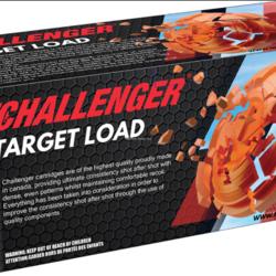 Challenger Target Load 100 Rounds 12GA #8 2-3/4  1-1/8 1150FPS