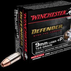 Winchester Defender Elite Pistol Ammo 9mm 147GR 20 Rounds