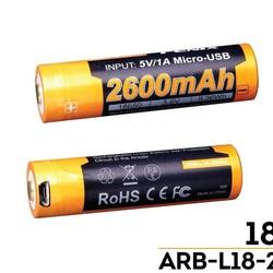 Fenix ARB-L18 2600U mAh 18650 Li-ion Battery
