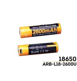 Fenix Fenix ARB-L18 2600U mAh 18650 Li-ion Battery
