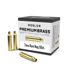 Nosler 7MM REM MAG Brass 50ct.