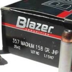 CCI Blazer 357 Magnum 158GR JHP