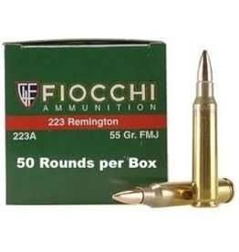 Fiocchi Fiocchi .223 Remington 55gr FMJ 50ct