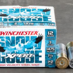 "Winchester WXS12312 Xpert Snow Goose Steel Shotshell 12 GA, 3"", 1+2 Shot, 1-1/4oz 1475 fps 25 Rnd"