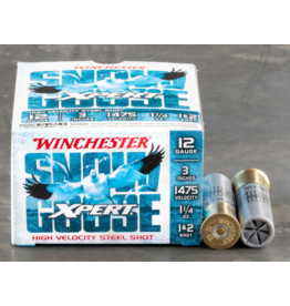 "Winchester Winchester WXS12312 Xpert Snow Goose Steel Shotshell 12 GA, 3"", 1+2 Shot, 1-1/4oz 1475 fps 25 Rnd"