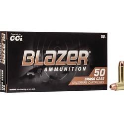 CCI Blazer Brass Centerfire Pistol Ammo 38 Special 125 GR FMJ